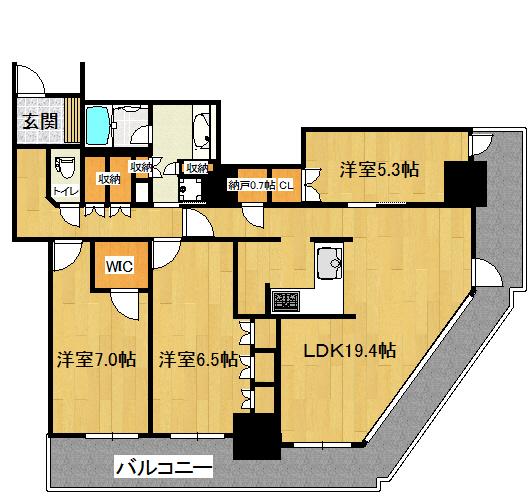 阿波座ライズタワー1708号